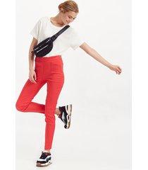 pantalón rojo portsaid confort classic notting hill