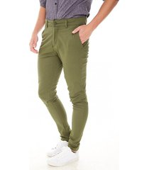 pantalón verde chelsea market moderno chino