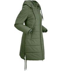 cappotto trapuntato (verde) - bpc bonprix collection