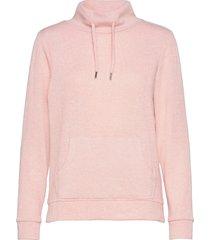 sweatshirts sweat-shirt tröja rosa esprit casual