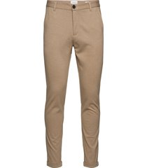 knitted pants normal length casual byxor vardsgsbyxor beige lindbergh