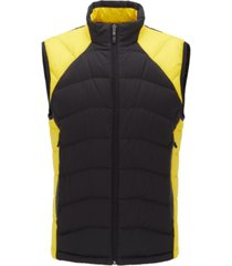 boss men's sarito link² quilted gilet jacket