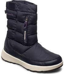 paninaro™ omni-heat™ pull on shoes boots ankle boots ankle boot - flat blå columbia
