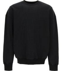 a-cold-wall loopback cotton sweatshirt