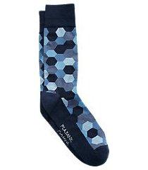 travel tech honeycomb mid-calf socks, 1-pair