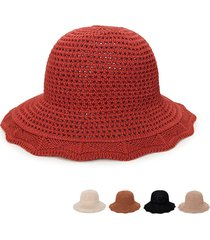 cappello da donna in velluto pieghevole pieghevole da donna