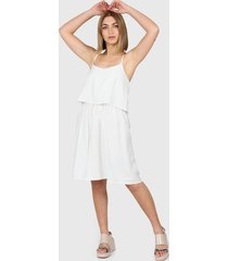 vestido blanco montjuic giglio