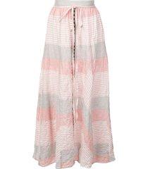 lemlem dera godet skirt - pink