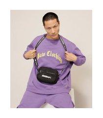 bolsa crossbody baw clothing preta