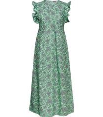 aeron jurk knielengte multi/patroon baum und pferdgarten