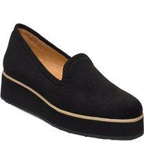 242g black ultrasuede vegan loafers låga skor svart gram