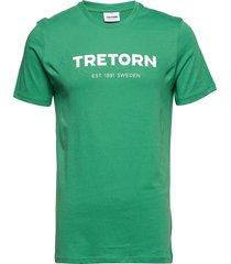 t-shirt t-shirts short-sleeved grön tretorn