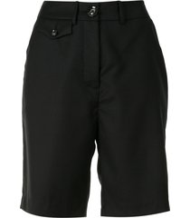anna quan patsy coin pocket shorts - black