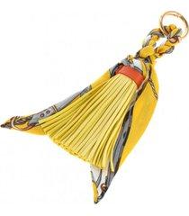 llavero pañuelo amarillo humana