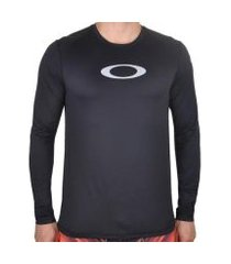 camiseta de lycra oakley blade surf ls