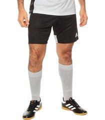 pantaloneta negra-blanca adidas performance tastigo 19 sho