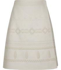 ermanno scervino mid-length skirt