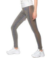 leggings gris-azul skechers