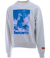 heron preston heron preston cotton sweatshirt