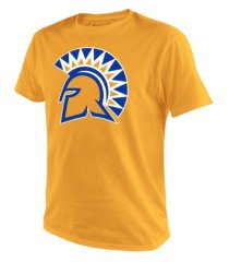 top of the world men's san jose state spartans big logo t-shirt