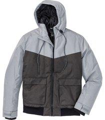 giacca impermeabile imbottita regular fit (grigio) - bpc bonprix collection
