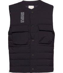kelvin light padded vest vest blauw wood wood