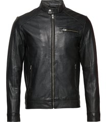 slh c-01 classic leather jacket w noos leren jack leren jas zwart selected homme