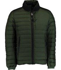 fortezza omegna donsgevoerde jas groen mz5410203/600