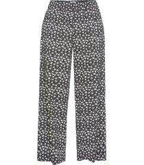 pantaloni fantasia con elastico in vita (nero) - bodyflirt