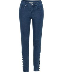 push-up jeans med cut-out