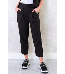 pantalon parisienne 7/8 zwart