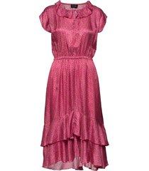 3367 - nivi/l jurk knielengte roze sand