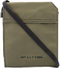 1017 alyx 9sm small logo pouch - green