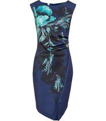 abito a tubino con stampa (blu) - bodyflirt boutique