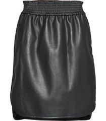 stella skirt knälång kjol svart wolford