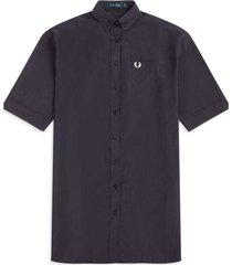 oversized shirt dress - navy d9157-608