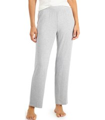 alfani super soft knit pajama pants, created for macy's