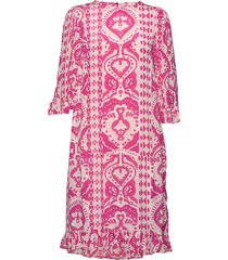 day bella jurk knielengte roze day birger et mikkelsen