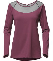 camiseta mujer vision l/s - the north face
