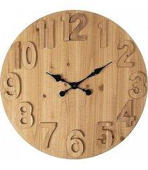 zegar ścienny okrągły natural 70 cm