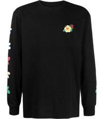 clot logo-print cotton sweatshirt