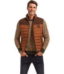 chaqueta sin mangas hamptons marrón ferouch