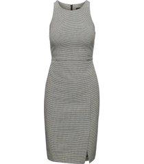 vestido istretch sheath bw texture gris banana republic