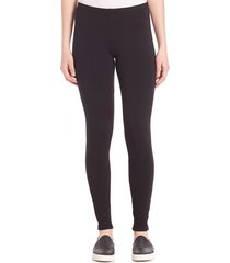 splendid women's heavy-weight french terry leggings - black - size m