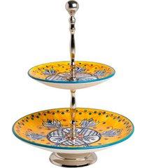 petisqueira de cerâmica 2 andares tropic