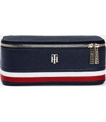 tommy hilfiger women's stripe vanity case sky captain -