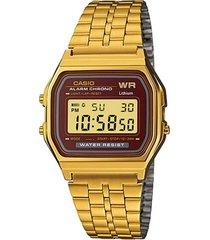 reloj casual dorado casio