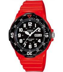reloj casio modelo casio analogo rosa hombre
