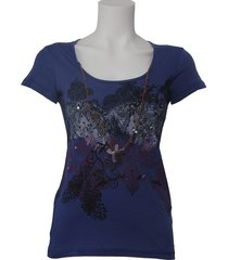 dept t-shirt - lovely - paars / purple