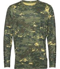 ls tee borg borg t-shirts long-sleeved grön björn borg